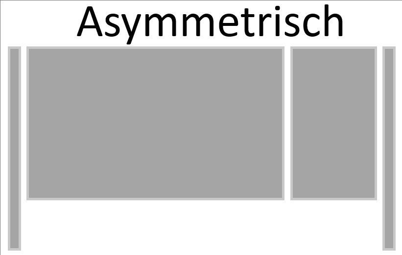Asymmetrisch