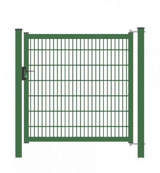 Gartentor / Zauntür Classic Eco (Einstabmatte) Breite 100 cm Höhe 100 cm Grün